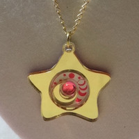 STAR LOCKET Sailor Moon Necklace/Pendant Laser by MercuryHenshin