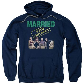 Married With Children - Vintage Bundys Adult Pull Over Hoodie