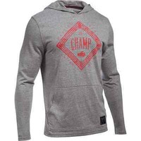 Under Armour Men's UA Cassius Clay The Champ Muhammad Ali Hoodie Gray TriBlend