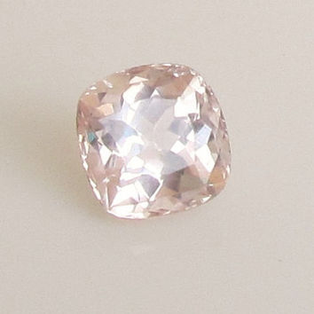 Peach Champagne Sapphire Over 9 Carats Cushion Shape Loose Gemstone for Gemstone Engagement Ring Weddings Anniversary