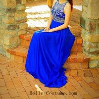 Blue Prom Dresses, Blue Prom Dresses 2016, Blue Evening Dresses, Blue Formal Dresses