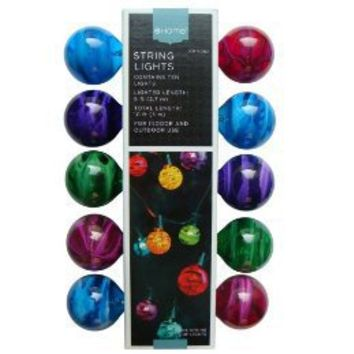 Marble 10-Bulb String Lights - Multicolor from Target