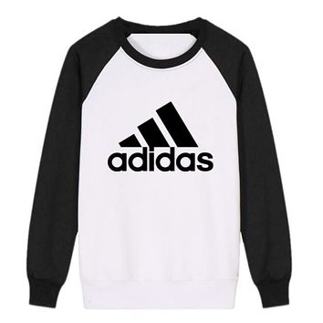 Trendsetter Adidas Women Men Fashion Casual Top Sweater