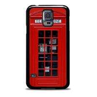 London Phone Box Design unique Samsung Galaxy S5 Cases