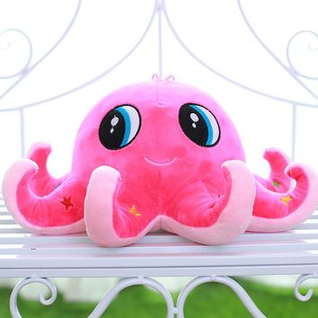 Octopus doll plush toys pillow cushion for leaning on children's doll