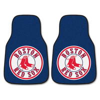 Boston Red Sox MLB Car Floor Mats (2 Front) Sock Logo