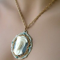 Renaissance Cameo Necklace