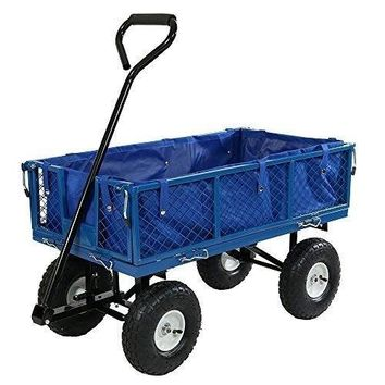 Utility Cart Folding Sides Liner Set 400 Pound Weight Capacity 34 Inches Long