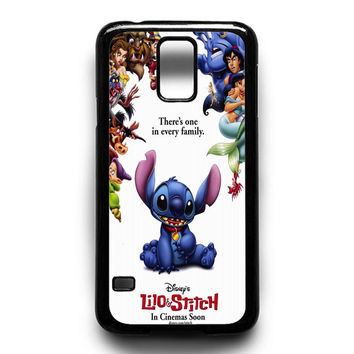 lilo and stitch disney Samsung Galaxy S4 Galaxy S5 Galaxy S6 Galaxy S6 Edge Galaxy S6 Edge Plus Galaxy S7|S7 Edge Case