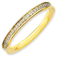 Diamond Eternity Stackable Ring 1/5ctw