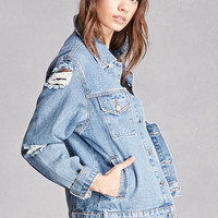 Momokrom Distressed Denim Jacket