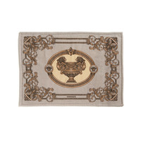 Bath Mat - 50x70cm - Pearl Grey/White from Versace