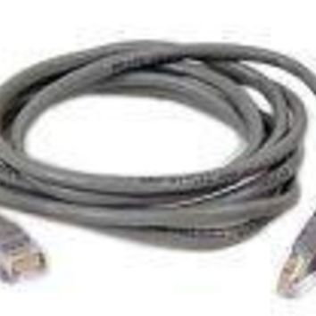 Belkinponents 3ft Cat5e Snagless Patch Cable, Utp, Gray Pvc Jacket, 24awg, T568b, 50 Micron, G