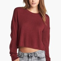 Leith Elbow Cutout Pullover | Nordstrom