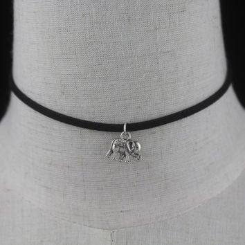 Elephant Choker Necklace