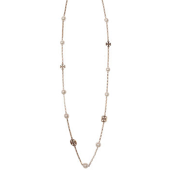 Tory Burch Evie Rosary necklace