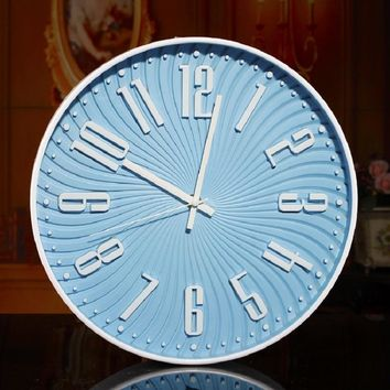 Illusion Vintage Wall Clock, Digital Quartz Clock.