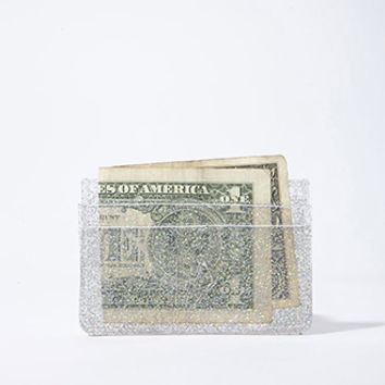 LAEX Embossed Translucent Card Holder