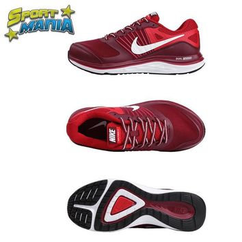 """Ready Stock"" NIKE DUAL FUSION X1 ""Red"" Men Sport Running shoes"