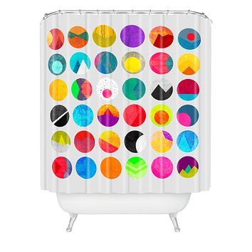 Elisabeth Fredriksson Dots 1 Shower Curtain