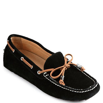 Ivanka Trump Anais Leather Driving Moccasins
