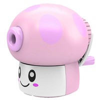 Partiss Kid's Cartoon Manual Plastic Pencil Sharpener