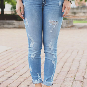 Remain Untamed Denim - Medium Wash