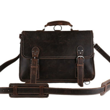 Johannesburg – Full Leather Briefcase Backpack