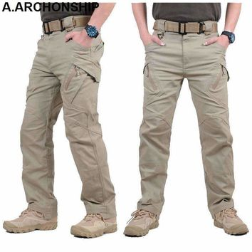 Ix9 Ii Men Militar Tactical Pants Combat Trousers Swat Army Military Pants Mens Cargo Outdoors Pants Casual Cotton Trousers