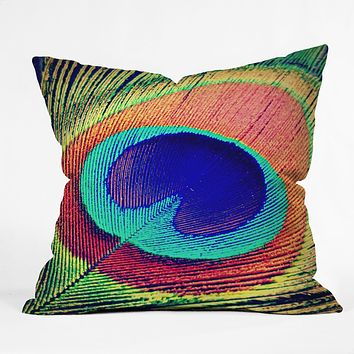 Shannon Clark The Eye Throw Pillow