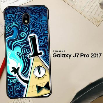 Gravity Falls Bill Cipher  X4424 Samsung Galaxy J7 Pro SM J730 Case