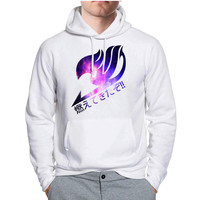 Fairy Tail Guild Nebula Anime Hoodie -tr3 Hoodies for Man and Woman