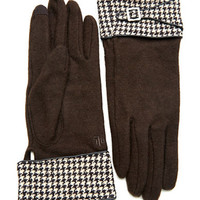 Lauren Ralph Lauren Houndstooth Gloves