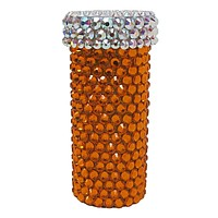 Classic Crystal Pill Bottle
