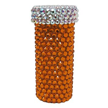 Pill Bottle 1  |  Large Crystals