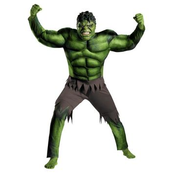 The incredible hulk costume for adults