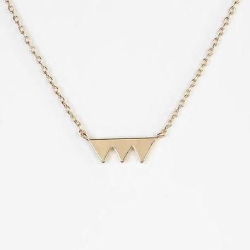 Cutout Pyramid Necklace - Urban Outfitters