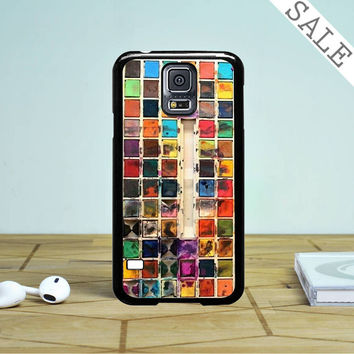 Watercolor Set 2 Samsung Galaxy S5 Case