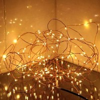 Innoo Tech** 100 LED Warm White Copper Wire LED Starry Lights ,12 DC LED String Light,10M/33ft with Power Adapter