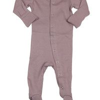 L'OVEDBABY Organic Lavender Gloved Sleeve Overall