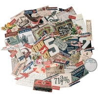 Tim Holtz Idea-Ology: Ephemera Pack, 'Emporium' Design; 70 embellishments