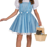 the wizard of oz dorothy deluxe child costume - small