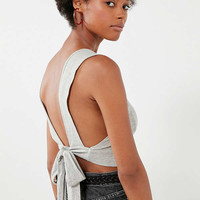 Truly Madly Deeply Bow-Tie Tank Top | Urban Outfitters