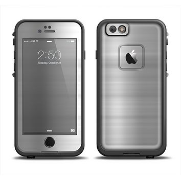 The Brushed Metal Surface Apple iPhone 6 LifeProof Fre Case Skin Set