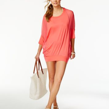 Coco Reef Women's Chiffon-Combo Cover-Up