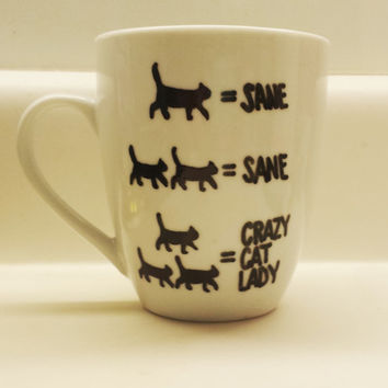 Crazy Cat Lady Cat Lover's Funny Mug