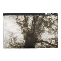 the Tree From Below Black & White Travel Accessory Bag