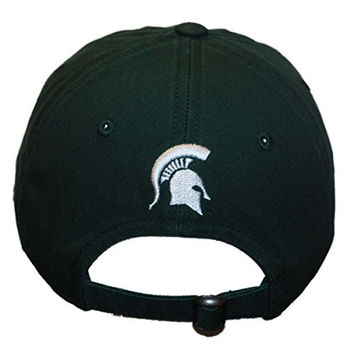 Michigan State Spartans TOW Women Green Flair Bling Adjustable Strap Hat Cap