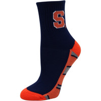 Syracuse Orange Women's Zoom Quarter-Length Socks