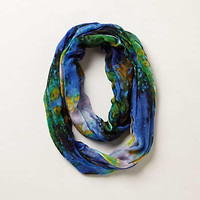 Brushed Watercolor Infinity Scarf